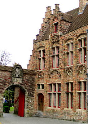 Photograph - Bruges 10 by Randall Weidner