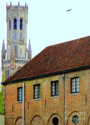 Photograph - Bruges 18 by Randall Weidner