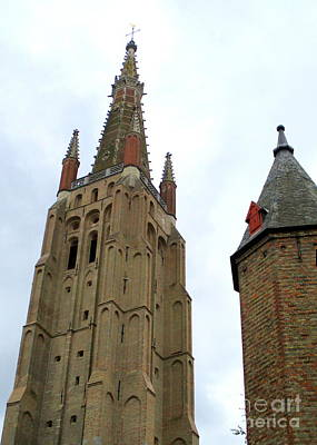 Photograph - Bruges 20 by Randall Weidner