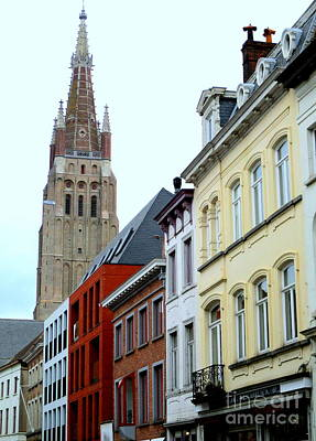 Photograph - Bruges 3 by Randall Weidner