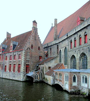 Photograph - Bruges 4 by Randall Weidner