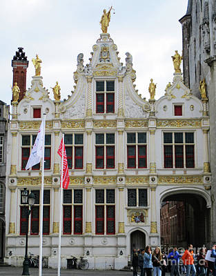 Photograph - Bruges 51 by Randall Weidner