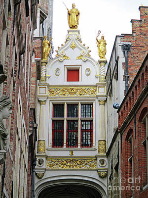 Photograph - Bruges 52 by Randall Weidner