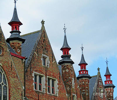 Photograph - Bruges 53 by Randall Weidner