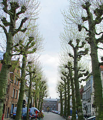 Photograph - Bruges 55 by Randall Weidner