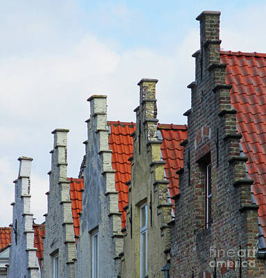 Photograph - Bruges 56 by Randall Weidner