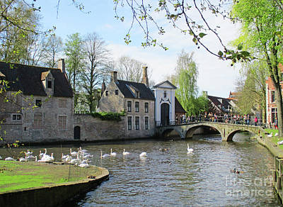 Photograph - Bruges 59 by Randall Weidner