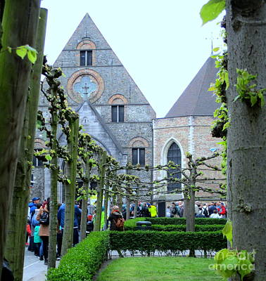 Photograph - Bruges 8 by Randall Weidner