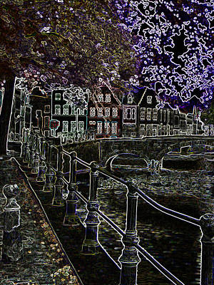 Photograph - Bruges Canal 1 by Rhonda McDougall