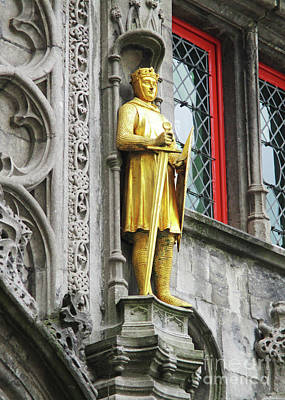 Photograph - Bruges Detail 26 by Randall Weidner