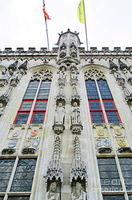 Photograph - Bruges Detail 30 by Randall Weidner