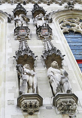 Photograph - Bruges Detail 33 by Randall Weidner