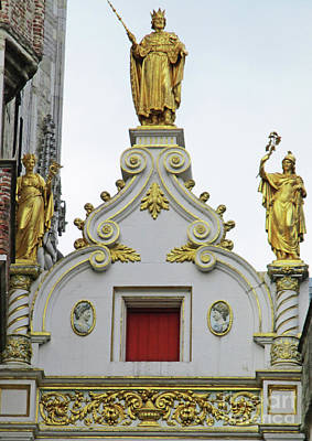 Photograph - Bruges Detail 37 by Randall Weidner