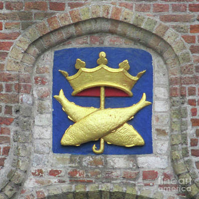 Photograph - Bruges Detail 38 by Randall Weidner