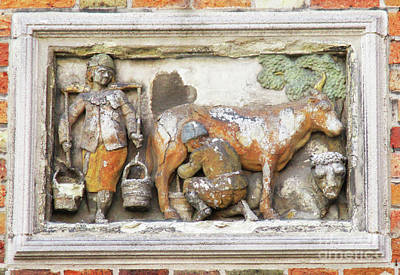 Photograph - Bruges Detail 39 by Randall Weidner
