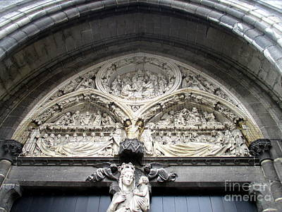 Photograph - Bruges Detail 5 by Randall Weidner