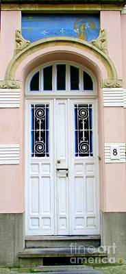 Photograph - Bruges Door 2 by Randall Weidner