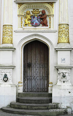 Photograph - Bruges Door 7 by Randall Weidner