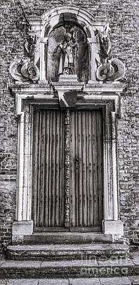Belguim Wall Art - Photograph - Bruges Door by Lexa Harpell