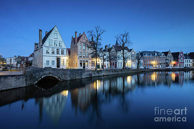 Photograph - Magical Brugge by JR Photography