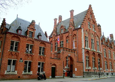 Photograph - Bruges Sashuis 5 by Randall Weidner