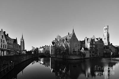 Chocolate Photograph - Bruges by Nichola Denny