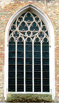 Photograph - Bruges Window 2 by Randall Weidner
