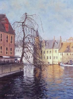 Brugge I Original by Daniel Fishback