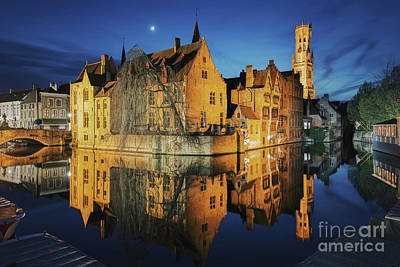 Photograph - Brugge by JR Photography