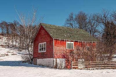 Photograph - Brumal Barn by Todd Klassy