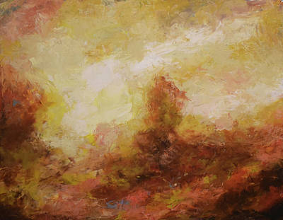 Painting - Brumas No.12 by Abisay Puentes