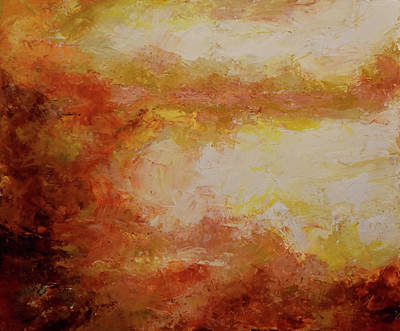 Painting - Brumas No.14 by Abisay Puentes