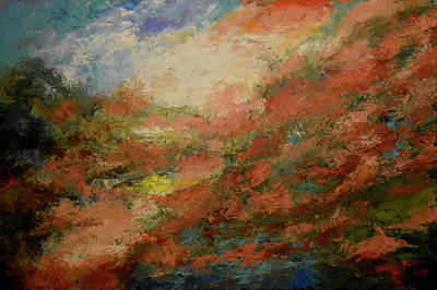 Painting - Brumas No.8 by Abisay Puentes