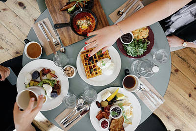 Food And Beverage Royalty-Free and Rights-Managed Images - Brunch by Happy Home Artistry