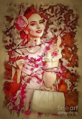 Brunch Digital Art - Brunch In Ambiance by Catherine Lott