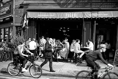 Photograph - Brunch In The Village by John Rizzuto