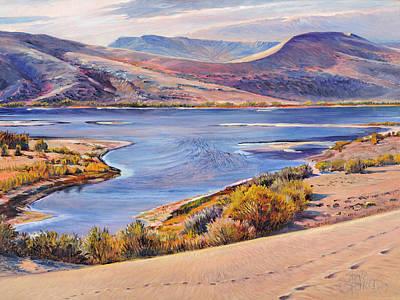 Bruneau Sand Dunes Art Print by Steve Spencer