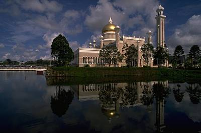 Travel Pics Royalty-Free and Rights-Managed Images - Brunei Mosque by Travel Pics