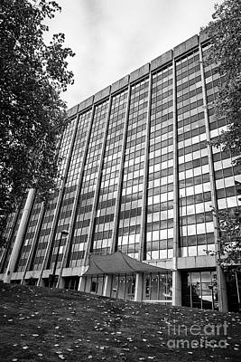 brunel house office building home to hmrc amongst others Cardiff Wales United Kingdom Art Print by Joe Fox