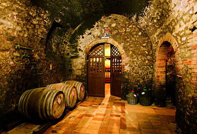 Wine Barrel Digital Art - Brunello Vecchio by John Galbo