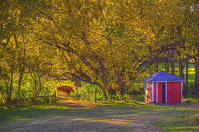 Photograph - Brunner Organic Family Farm by Roger Passman