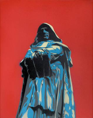 Painting - Bruno Giordano by Seamas Culligan