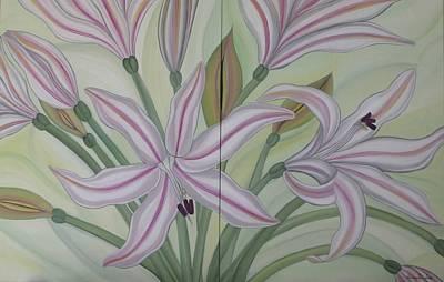Painting - Brunsvigia Grandiflora by Marinella Owens