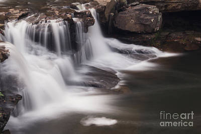 Photograph - Brush Creek Falls by Mel Petrey
