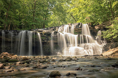 Photograph - Brush Creek Falls by Travis Rogers