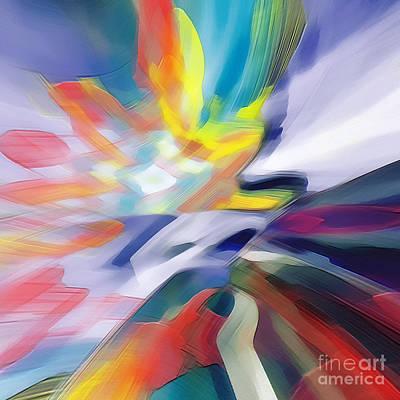 Digital Art - Brush Stroke Bliss by Margie Chapman