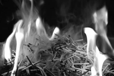 Photograph - Brushfire 1 by Sumit Mehndiratta
