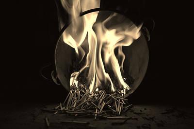 Conceptual Photograph - Brushfire 14 by Sumit Mehndiratta