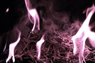 Photograph - Brushfire 2 by Sumit Mehndiratta