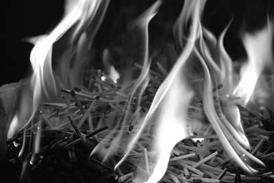 Photograph - Brushfire 3 by Sumit Mehndiratta